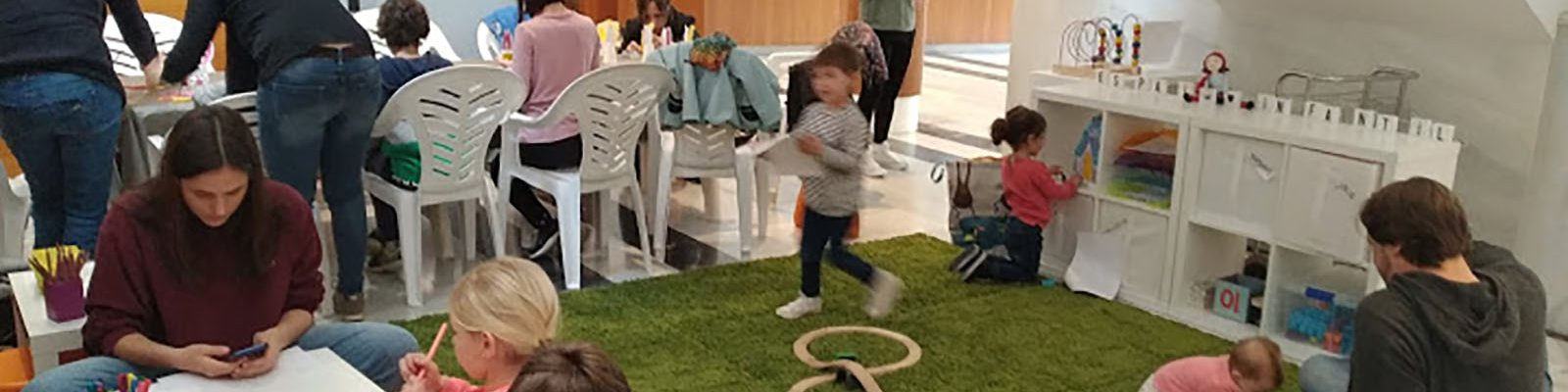 Actividades zona infantil