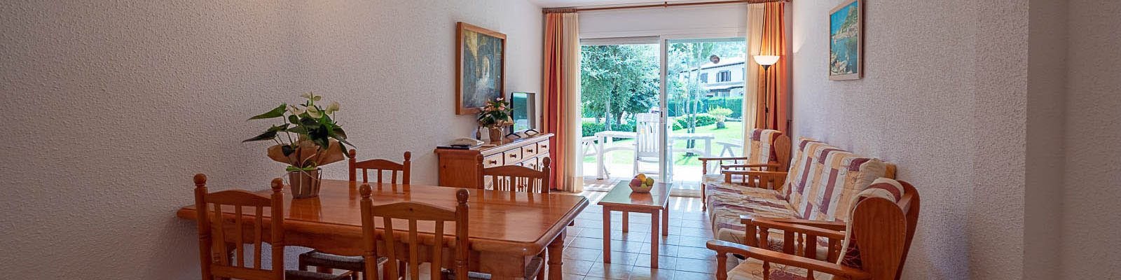 Villa 2 habitaciones salon comedor